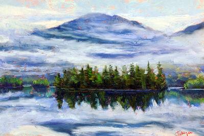 Takeyce Walter, 'Day 21: Lifting Fog on Elk Lake', February 2020