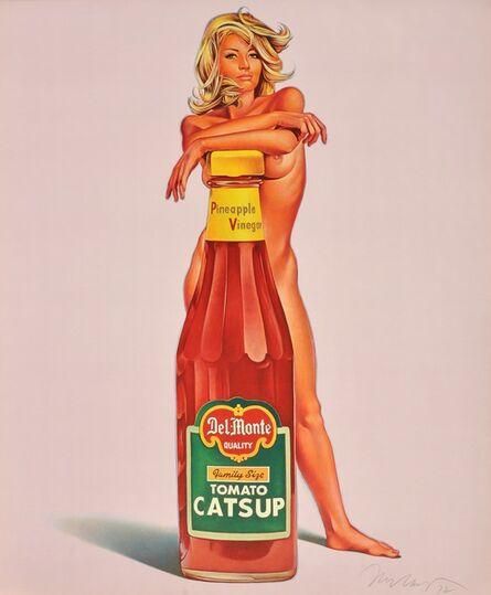 Mel Ramos, 'Della Monte | Tomato Catsup | Vintage', 1972