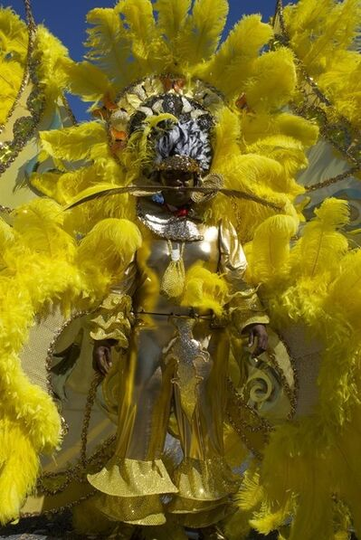 Kelly Han, 'West Indian Day Parade- Golden Feathers', 2008