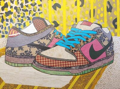 Keith Young, 'Street Shoes', 2021