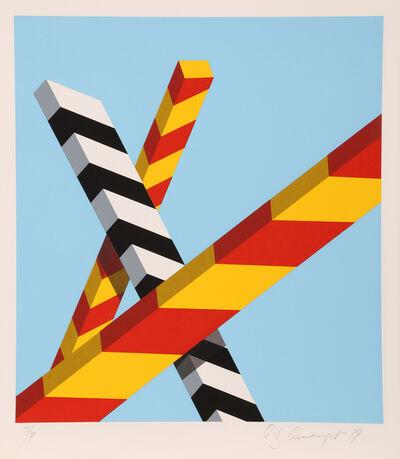 Allan D'Arcangelo, 'Sky Bars', 1979