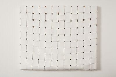 Margie Livingston, 'WOVEN PAINT WHITE', 2015