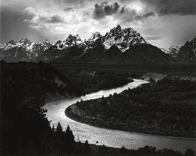 Ansel Adams, 'Tetons and Snake River, Grand Tetons National Park', 1942
