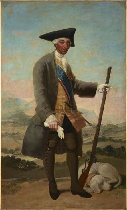 Francisco de Goya, 'Charles III in Hunting Dress', 1786-1788