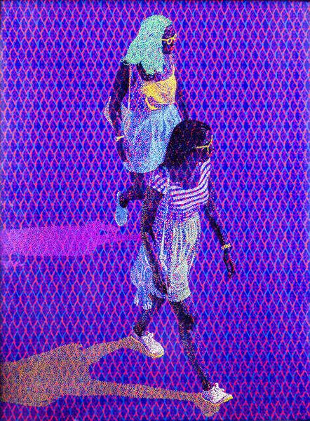 Evans Mbugua, 'Marching', 2017