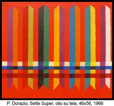 Piero Dorazio, 'Sette super', 1966