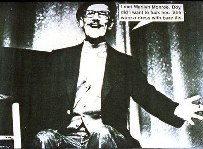 Lutz Bacher, 'Jokes (Groucho Marx)', 1987-1988