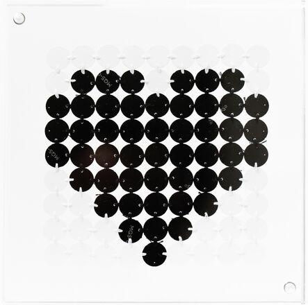 Kelly Kozma, 'Bitty Black Heart', 2016
