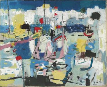 Liao Chi-Chun 廖繼春, 'The Harbour', 1964