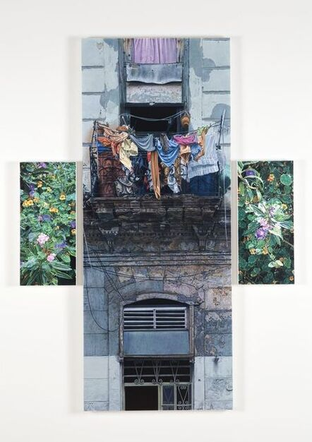 Don Eddy, 'Laundry Day in Paradise', 2015