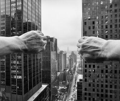 Arno Rafael Minkkinen, 'Self-portrait from the Shelton Hotel Looking East, New York', 2005