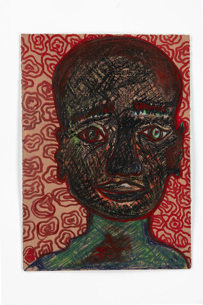 Barthélémy Toguo, 'Lockdown Selfportrait 1', 2020