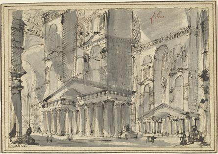 Giovanni Battista Piranesi, 'Fantasy of an Ancient Bath', late 1750s