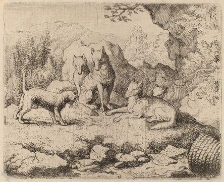 Allart van Everdingen, 'The Cat Sent as Messenger', probably c. 1645/1656