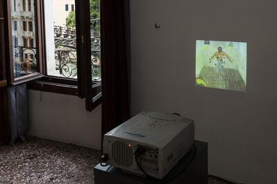 Tala Madani, 'Rare projection (Modern shit)', 2012