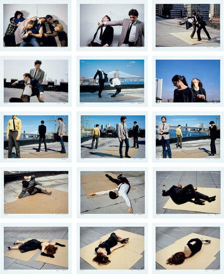Robert Longo, 'Men in the Cities (Fifteen Photographs)'