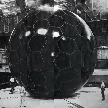 Radenko Milak, 'Grid-Sphere Satellite, Nasa 1959', 2021