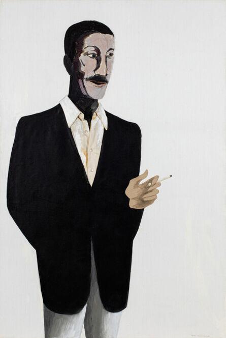 Benny Andrews, 'Portrait of Norman Lewis ', 1985