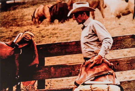 Richard Prince, 'Untitled [Cowboy with saddle], from the Cowboys and Girlfriends series'