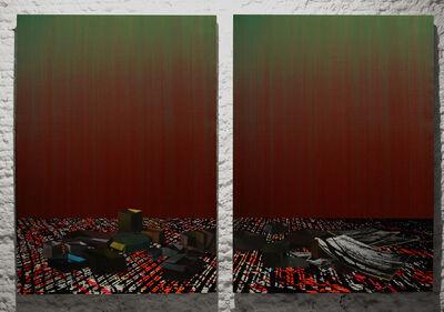 Javier Garcerá, 'A Ochenta y Tres Centímetros', 2014