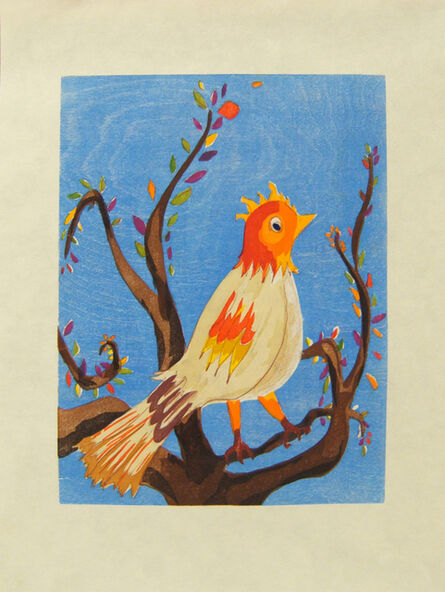 Laura Owens, 'Untitled (Bird)', 2006