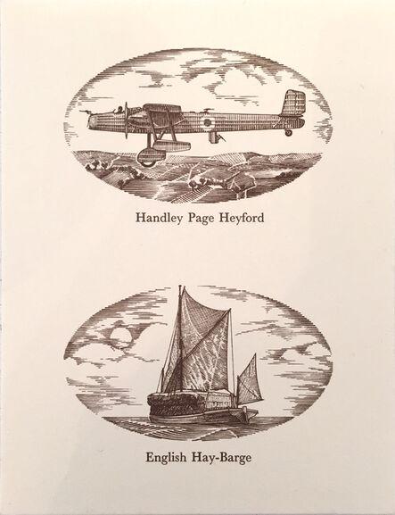 Ian Hamilton Finlay, 'Handley Page Heyford', 1978