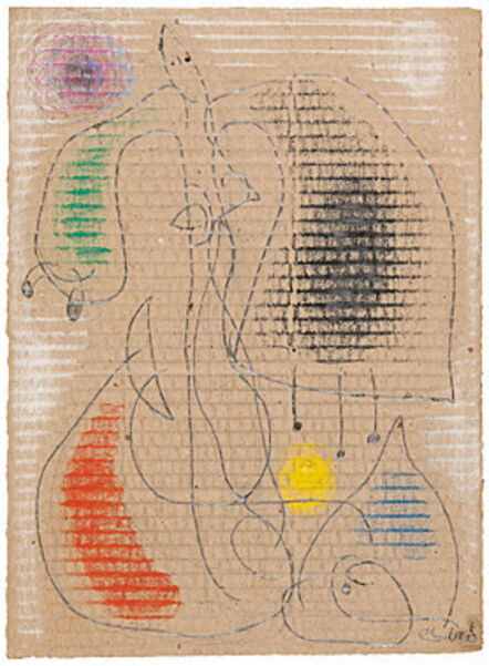 Joan Miró, 'Femme (Frau)', 1976