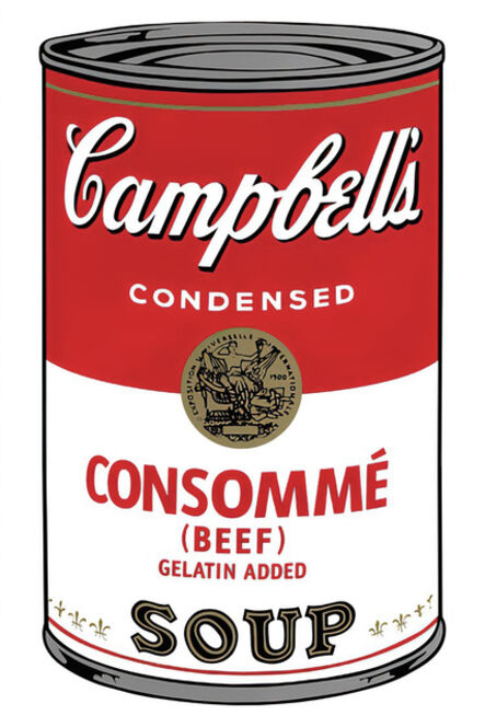(after) Andy Warhol, 'Campbell's Soup Can 11.52 (Consommé)', 1960s printed after
