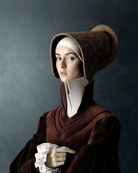 Christian Tagliavini, 'Ritratto di giovane donna', 2010