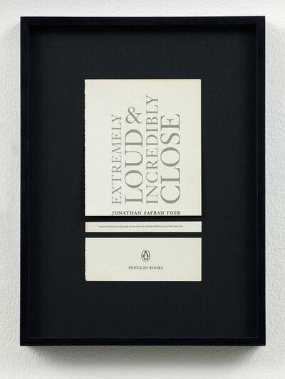 Meriç Algün Ringborg, 'Disclaimers (Jonathan Safran Foer: Extremely Loud and Incredibly Close)', 2014