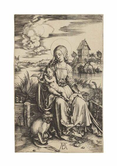 Albrecht Dürer, 'The Virgin and Child with a Monkey (B. 42; M., Holl. 30; S.M.S. 20)', ca. 1498