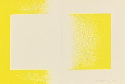 "Richard Anuszkiewicz, '""Yellow Reversed"" Vintage Richard Anuszkiewicz Lithograph', 1970"