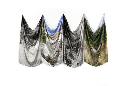 Ari Elefterin, 'Mojave Desert Water Scarves', 2019