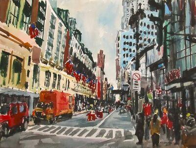 Richard Fitzhugh, 'Second New York Manhattan Flags'