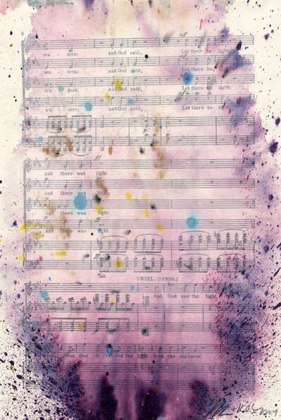 """Tim Rollins and K.O.S., '""""Study for The Creation ( after Haydn )""""', 2004"""