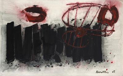 Stanislaus Rapotec, 'Storm at Mount Olympus', 1983