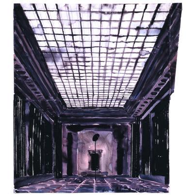 Anselm Kiefer, 'Innenraum', 1982