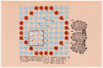 George Widener, 'Untitled (Calendrical Geometry 007)', 2015