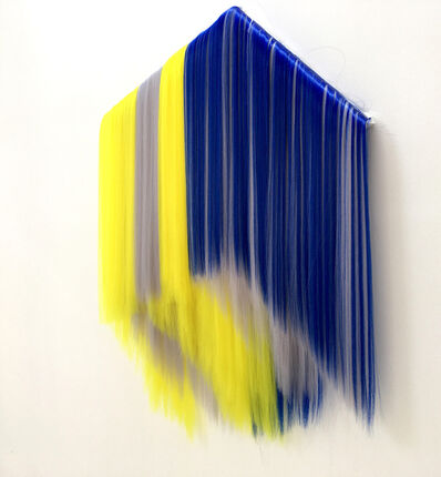 Hiva Alizadeh, 'Untitled (yellow- blue) ', 2021