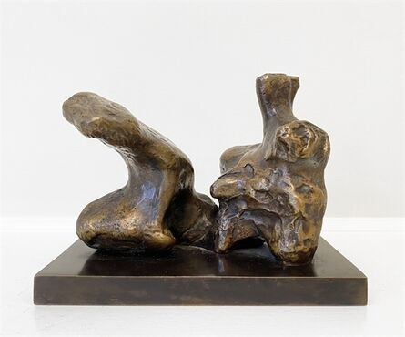 Henry Moore, 'Maquette for Two Piece Reclining Figure No. 1', 1959 -74