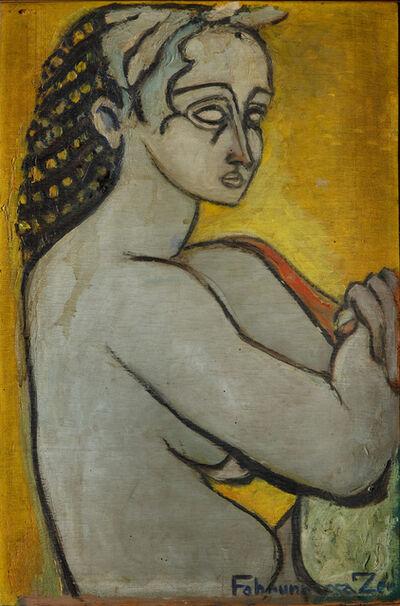 Fahrünissa Zeid, 'Antique Portrait', ca. 1940
