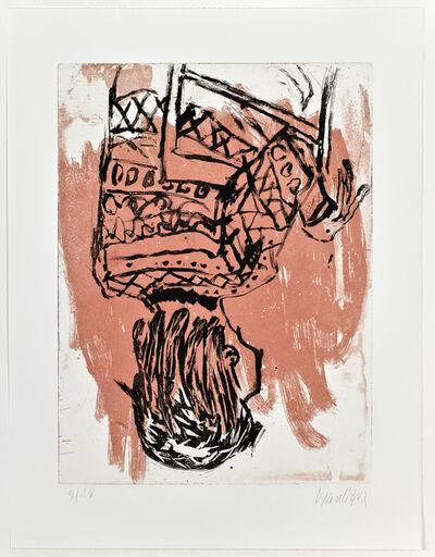 Georg Baselitz, 'Norweger rückwärts / Nowegian backwards I', 2013