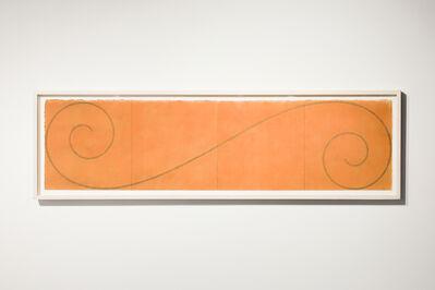Robert Mangold (b.1937), 'Curled Figure', 2002