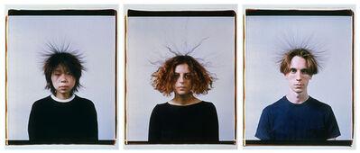 Mona Hatoum, 'Static Portraits (Momo, Devrim, Karl)', 2000
