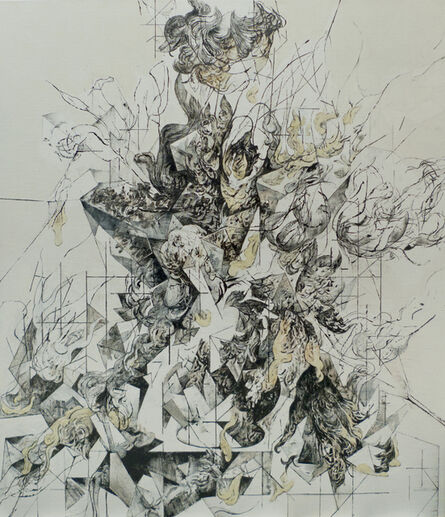 Zelin Seah, 'Flowers in a Vase Version C', 2014