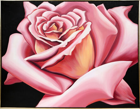 Lowell Nesbitt, 'Pink Rose', 1976