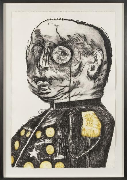 William Kentridge, 'General (Yellow)', 1993-1998