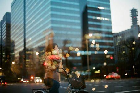 Edgar Takoyaki, 'Chiyoda Bike Girl', 2017