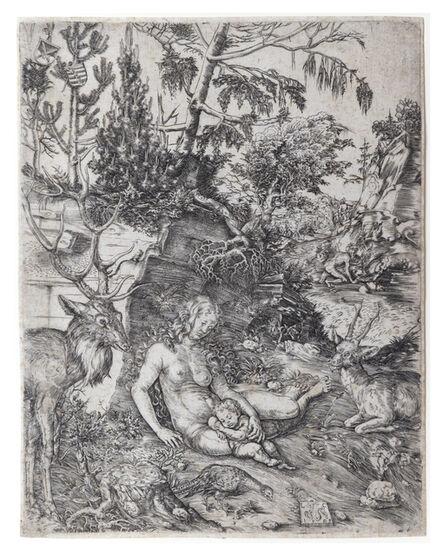 Lucas Cranach the Elder, 'The Penance of Saint John Chrysostom.', 1509