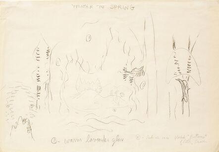 Charles Ephraim Burchfield, 'Winter to Spring', n.d.